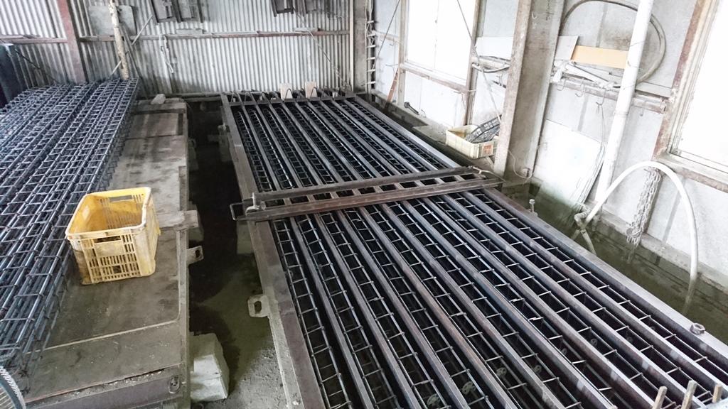 コンクリート杭製造